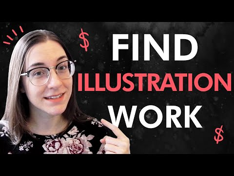 Find illustration work | How to get started as a freelance artist