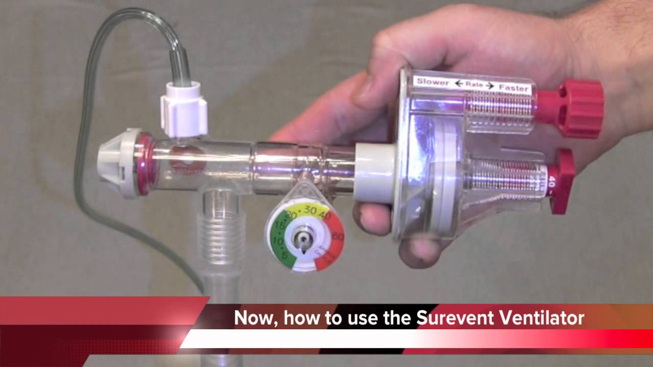 Surevent Ventilator In Service Training YouTube