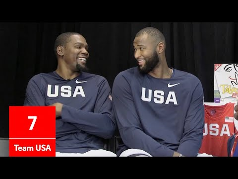 DeMarcus Cousins, Kevin Durant and Kyrie Irving Play Taboo | GQ
