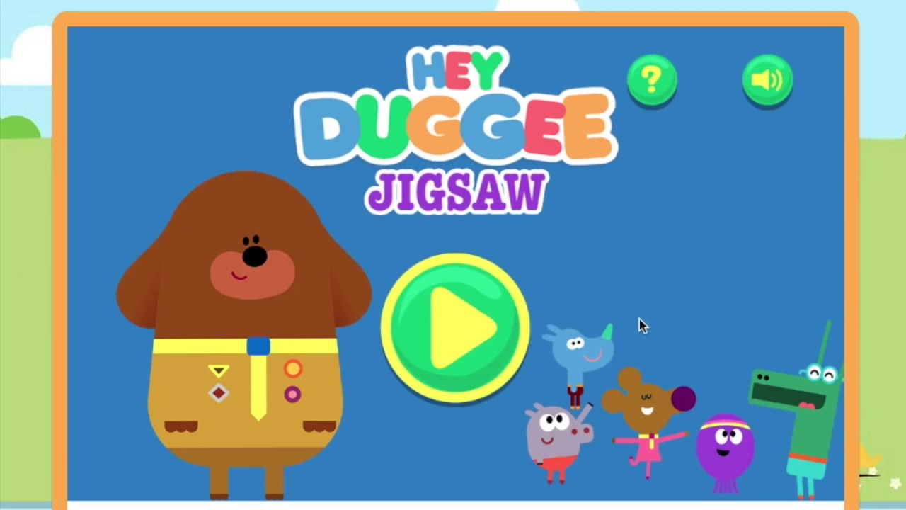 hey duggee games free