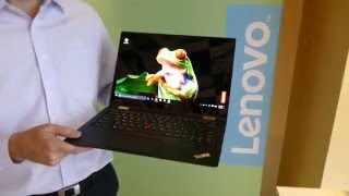 Lenovo Thinkpad X1 Carbon, Yoga and Tablet Overview