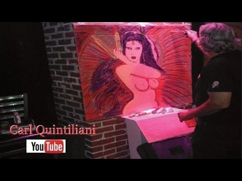 Time Lapse Painting 8 3d Fantasy Street Art Master Carl Quintiliani #CFQ #CarlFuckingQuintiliani