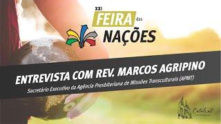 Live Missionária com Rev  Marcos Agripino | APMT
