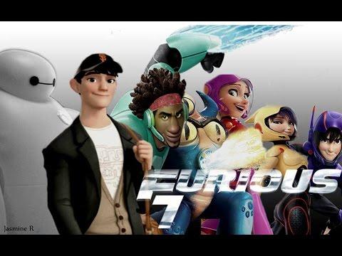 Furious 7- Big Hero 6 Crossover Trailer