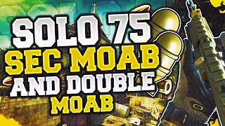 "MW3: ""Every Enemy Makes The OOF Sound From Roblox"" - *SOLO* 75 SECOND MOAB w/ DOUBLE MOAB!"