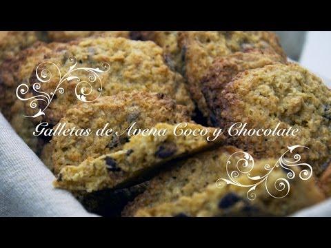 Dieta disociada galletas de avena