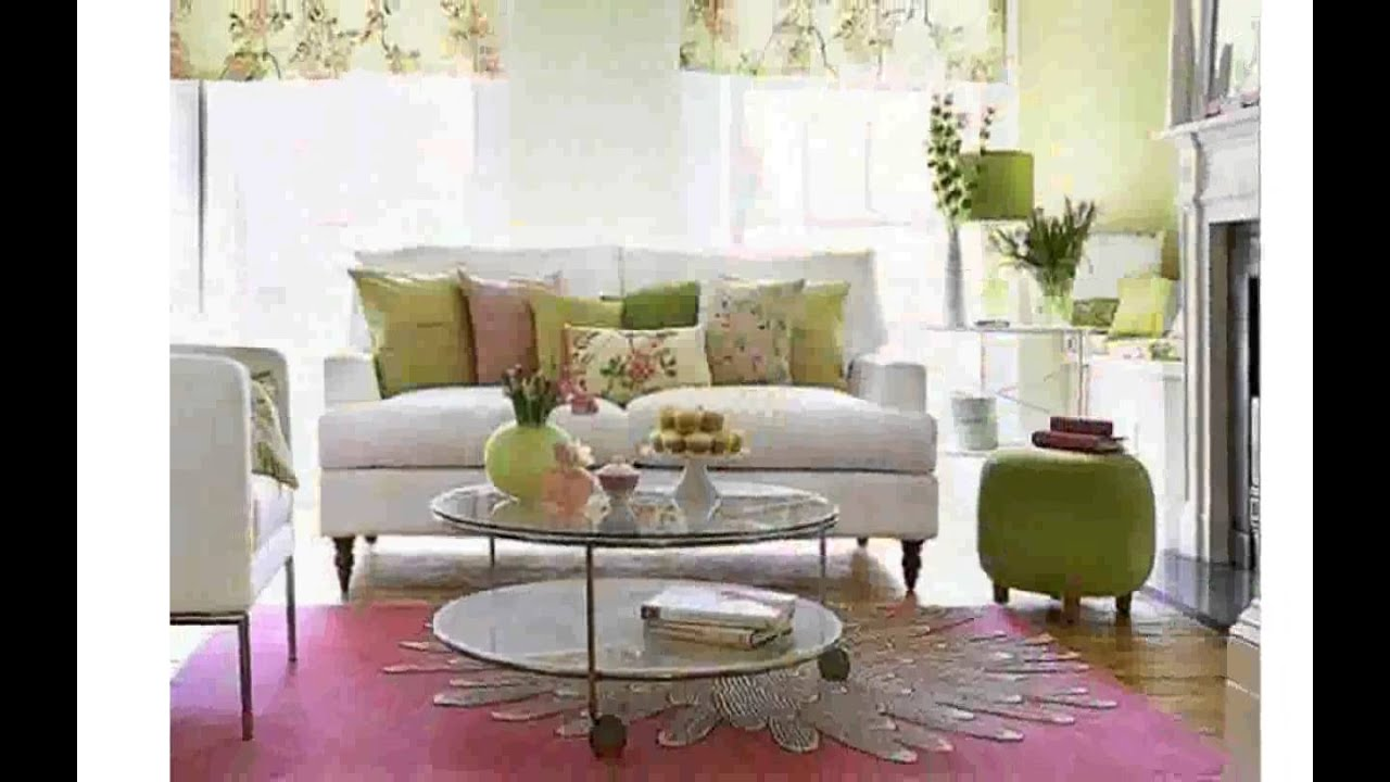 Small living room decorating ideas on a budget youtube for Small size drawing room interior