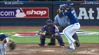 Blue Jays vs Rangers - Game 5 ALDS 2015 Highlights - HD