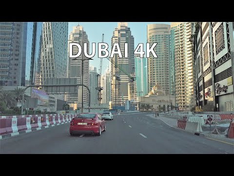 Dubai 4K - Miami of the Middle East - Morning Drive