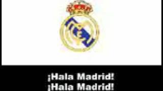 Official Realmadrid Anthem- Hala Madrid.3gp