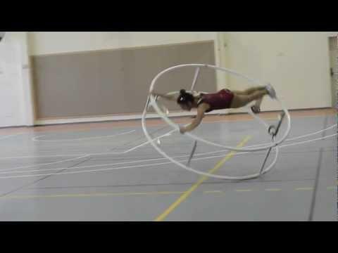 Israel Wheel Gymnastics - Noa Alexandroni