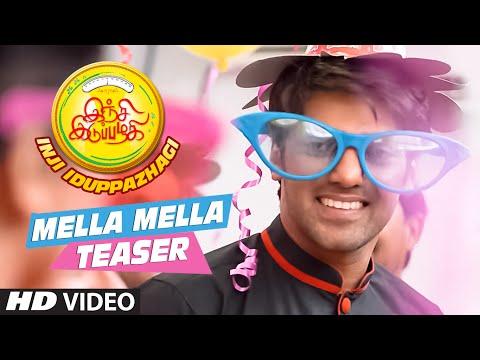 Mella Mella Video Teaser(Tamil) || Inji Iduppazhagi || Arya, Anushka Shetty, Sonal || M.M Keeravaani