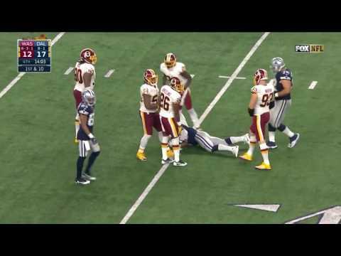 Redskins vs  Cowboys Week 12   Game Highlights   NFL on Thanksgiving