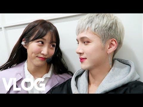 Visiting Music Bank Again (kind of lol)    Vlog - Edward Avila