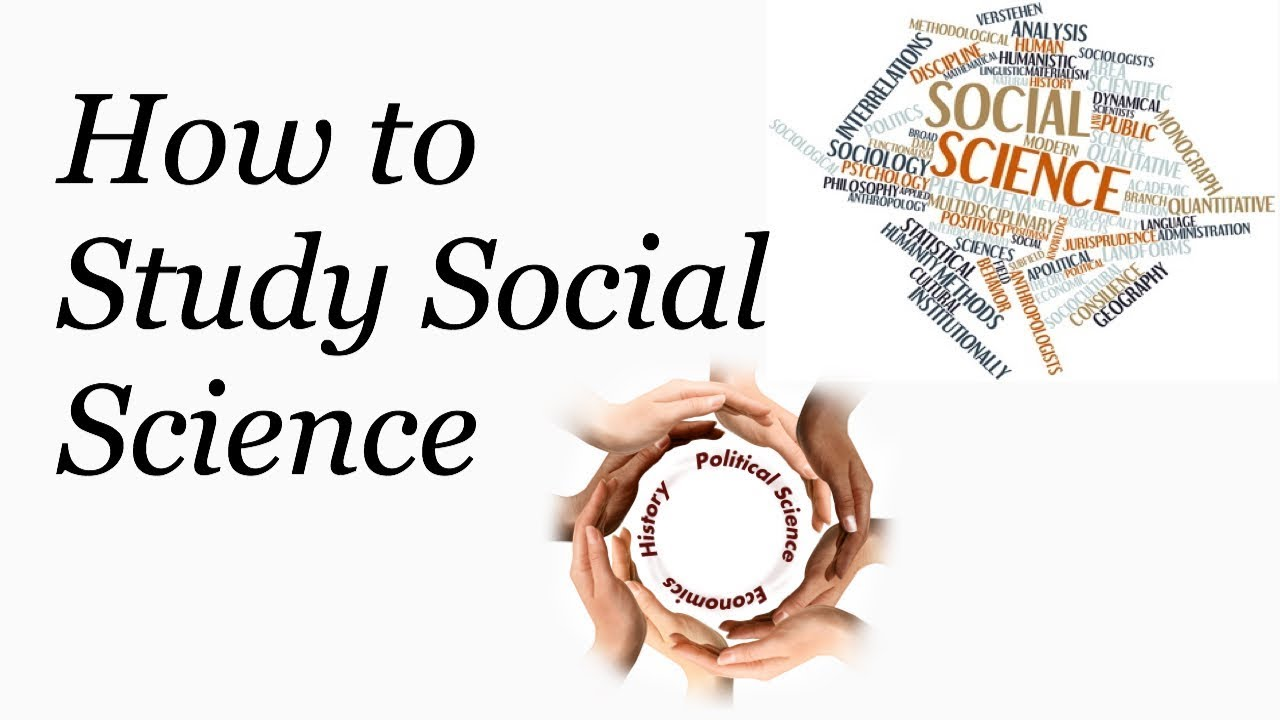 how to study social science tips for studying social science