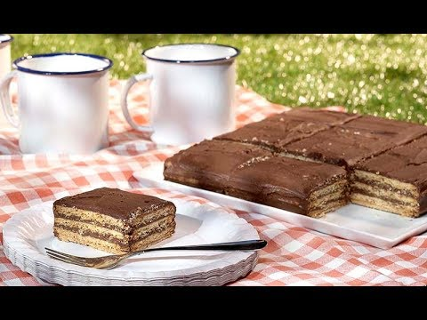 tarte au chocolat biscuit recette facile youtube. Black Bedroom Furniture Sets. Home Design Ideas