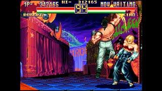 [TAS]ARCADE Art of Fighting 2-Robert Garcia