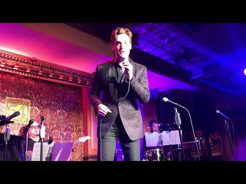 Erich Bergen with a movie musical medley so hilariously long my phone storage cut off the last bit
