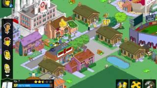 Взлом игры Симпсоны Спрингфилд