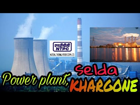 NTPC POWER PLANT BEHIND KHARGONE