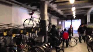 Modern Japanese Bicycle Parking Garage