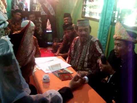 Adat Istiadat Pernikahan Palembang - Ijab Kobul Muh. Subhan Nasution di Simpang 5 Talang Ubi