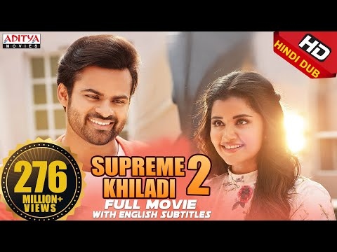 Supreme Khiladi-2 2018 New Released Full Hindi Dubbed Movie || Sai Dharam Tej  , Anupama thumbnail
