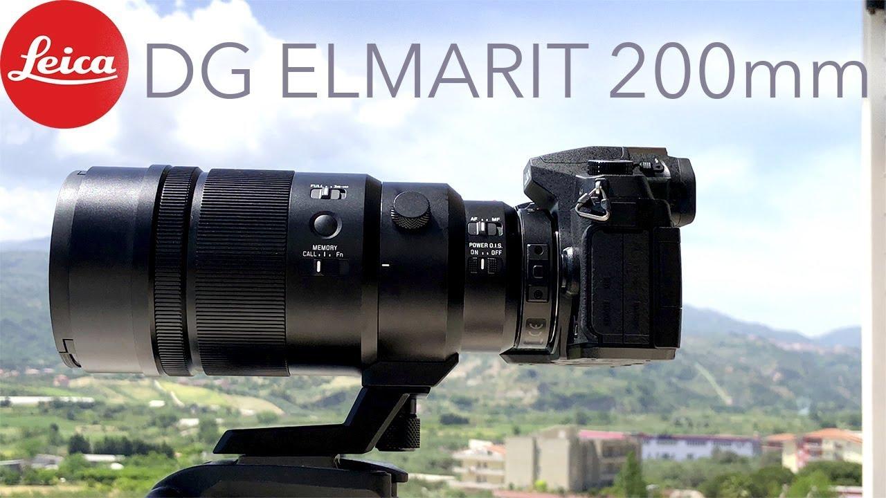 Leica Dg Elmarit 200mm F 28 Test Foto Video Teleobiettivo Panasonic Power Ois Lens