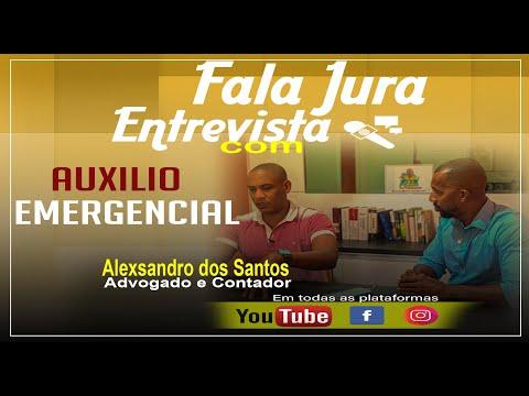 Fala Jura Entrevista - Tudo Sobre O Auxilio Emergencial