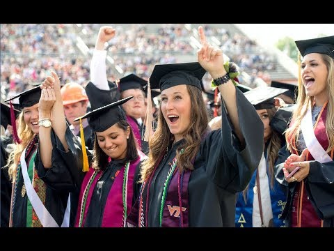 Virginia Tech Spring 2018 University Commencement ceremony