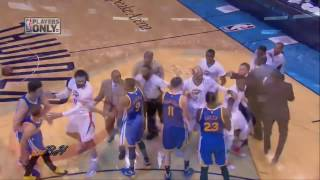 Curry &  Westbrook FIGHT || Curry Answers Back with a Buzzer