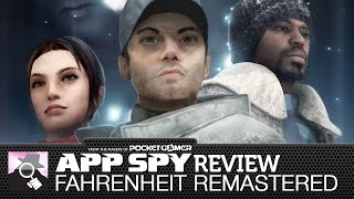 Fahrenheit: Indigo Prophecy Remastered | iOS iPhone / iPad Gameplay Review - AppSpy.com