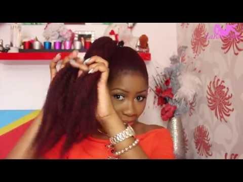 LaRoseShow: Kitoko ya muasi ezalaka na suki ( Cheveux naturelle 3 styles uniques )