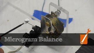 Measure the mass of an eyelash with a DIY microbalance