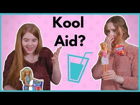 Can you Color Barbie Hair with Kool Aid? - Barbie Hair Dye