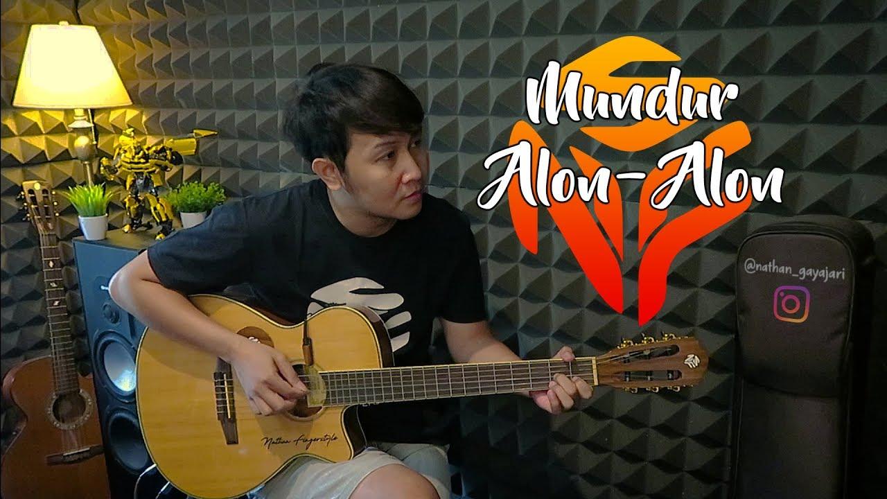 mundur alon alon ilux id nfs guitar cover youtube