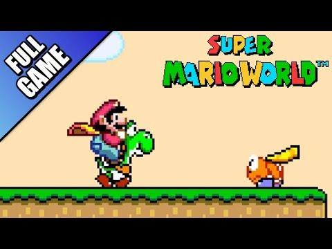 Super Mario World - Worlds 1 To 9 (Full Game 100%)