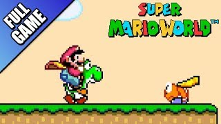 Super Mario World - Worlds 1 to 9 (Full Game 100%)