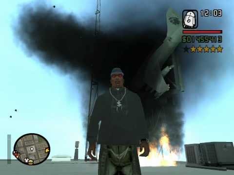 GTA San Andreas Jumpjet fight - Music video