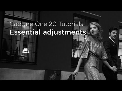 Capture One 20 Tutorials | Essential adjustments thumbnail