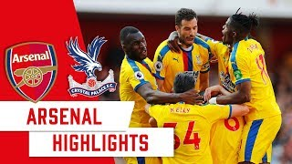 Arsenal 2-3 Crystal Palace | PREMIER LEAGUE | 2 Minute Highlights