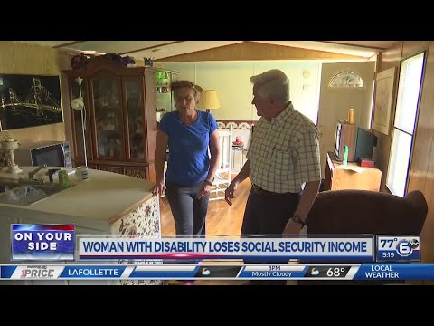Woman with disability loses SSI