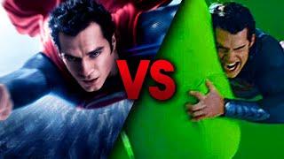 Jak wyglądają filmy DC przed dodaniem efektów specjalnych?!