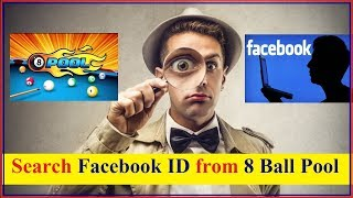 How to Search fb ID from 8 Ball Pool unique ID
