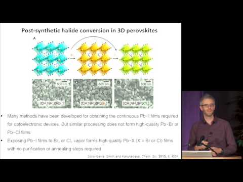Michael McGehee - Tech Talk: Solar & Radiation Energy Conversion