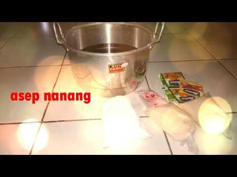 Video Cara Membuat Es Lilin Yang Empuk