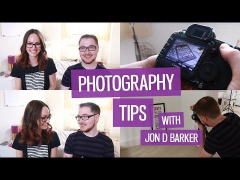 Design portfolio photography tips (w. Jon D Barker) | CharliMarieTV