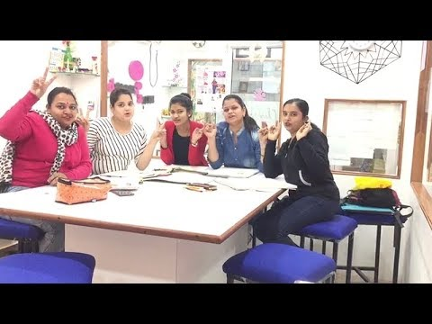 Thank You By Students For Fashion Interior Designing Institute Lucknow Youtube