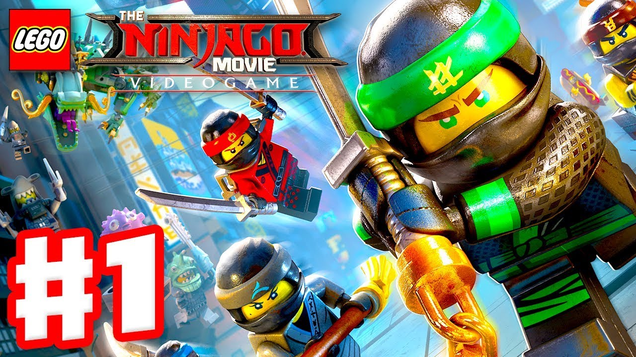 the lego ninjago movie videogame - gameplay walkthrough part 1