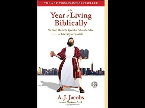 """A.J. Jacobs, author, """"The Year of Living Biblically"""""""